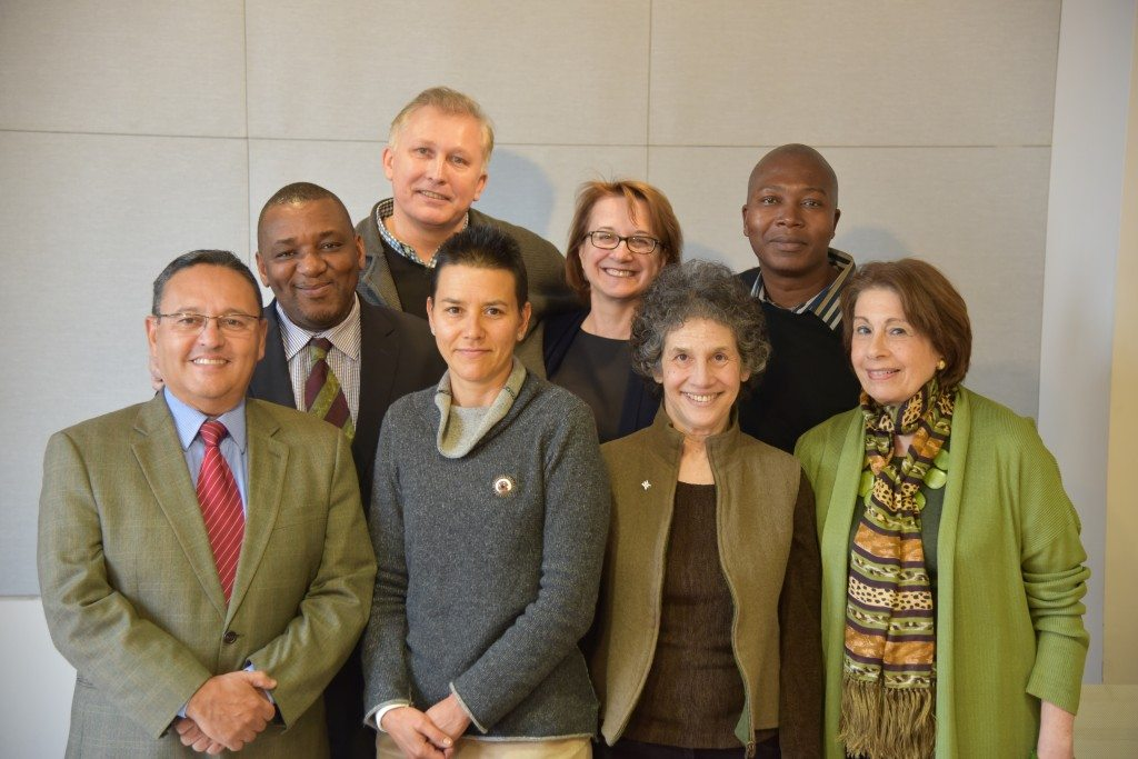 GDC's Board of Managers with Executive Director Dick van der Tak at their February 2015 meeting in New York. (Not pictured: Dr. Alfonso Carrera)